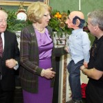 President & Mrs Higgins meet Professor Fred