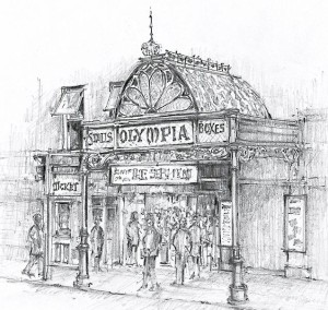 Drawing of Olympia Theatre