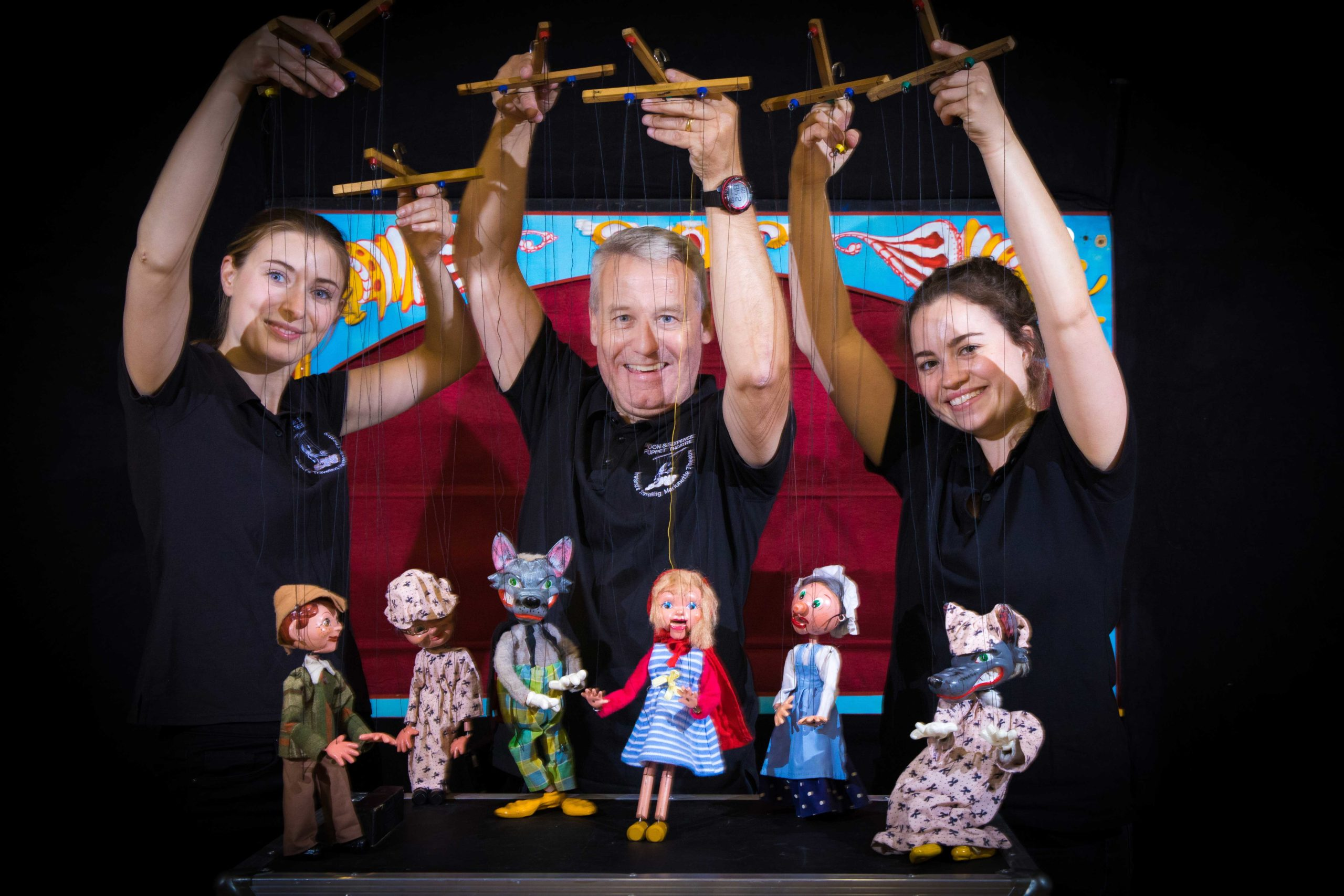 Puppeteers Ciara, Martin & Grainne